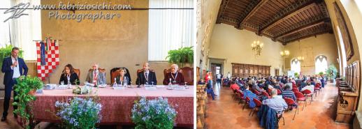 Sala Maggiore Palazzo Comunale Pistoia - Convegno Scoprire l'Ingegneria
