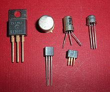 vari tipi di transistor a giunzione